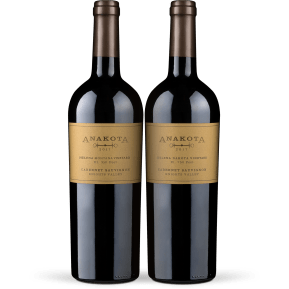 Anakota Cabernet Sauvignon Duo 'Dakota' & 'Montana' Knights Valley 2017