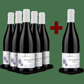 5+1-Set Domaine Anita Beaujolais Villages 'Nouveau' 2020