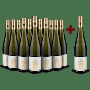 '12 halen, 11 betalen' pakket Weingut Josef Milz Riesling Großes Gewächs 'Leiterchen' Mosel 2019