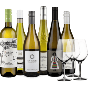 Wine in Black 'Sauvignon Blanc Lover'-Set + 3 Gratis-Spiegelau-Gläser