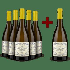 5+1-Set Les Producteurs Réunis Chardonnay 'Boulée-Cordot' 2020