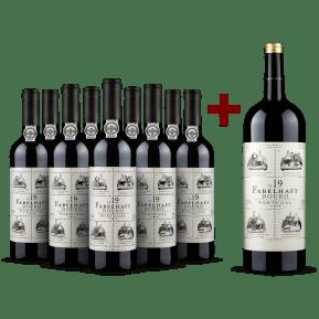 9 flessen + Magnum Niepoort 'Fabelhaft' Douro 2019- pakket