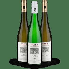 Weingut Josef Milz Riesling Grosses Gewächs Leiterchen Vertikale 2009 - 2010 - 2011