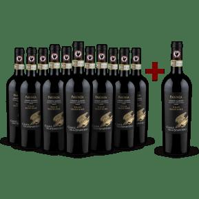 '12 halen, 11 betalen' pakket Casale dello Sparviero Chianti Classico Gran Selezione Vigna Paronza 2016