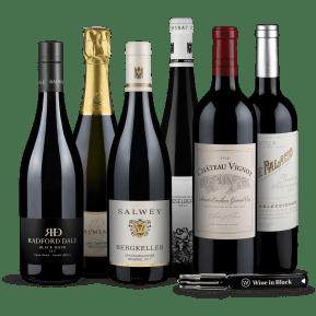 Wine in Black 'Best of Weinwisser' pakket + gratis flesopener