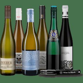 Wine in Black 'Riesling-Lover'-Set + Gratis-Kellnermesser