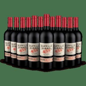Offre 12 bouteilles Buffalo Barrel 'Whiskey Barrel' Zinfandel California 2019