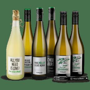 Wine in Black 'Power-Bauer-Brüder'-Set + Gratis-Kellnermesser