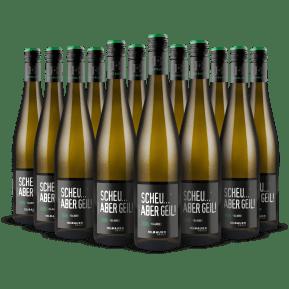 '12 flessen pakket' Scheurebe 'Scheu... aber geil!' 2020