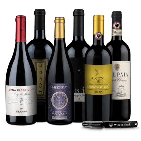 Offre Wine in Black 'Giro d'Italia' + 1 couteau sommelier offert