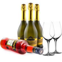 Wine in Black 'Aperol Sprizz-Set' + 2 Spiegelau-Gläser