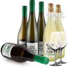 Wine in Black 'Power-Bauer-Set'+ 2 GRATIS Spiegelau Gläser