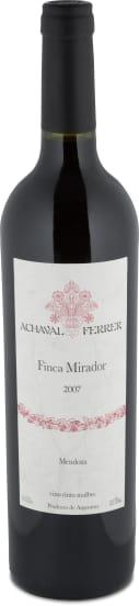 Malbec 'Finca Mirador' Mendoza 2007