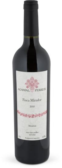 Malbec 'Finca Mirador' Mendoza 2010