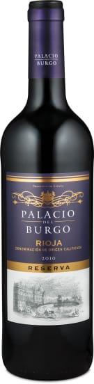 Palacio del Burgo Rioja Reserva 2010