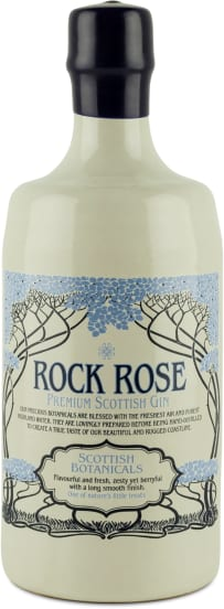 Rock Rose Premium Scottish Gin 'Scottish Botanicals'