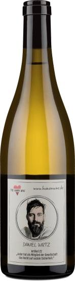 The Human Wine - Ménage à trois, Chardonnay, Weiß- und Grauburgunder 'Edition Daniel Wirtz' 2017