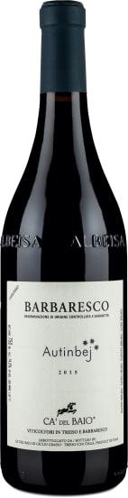 Barbaresco 'Autinbej' Piemonte 2015