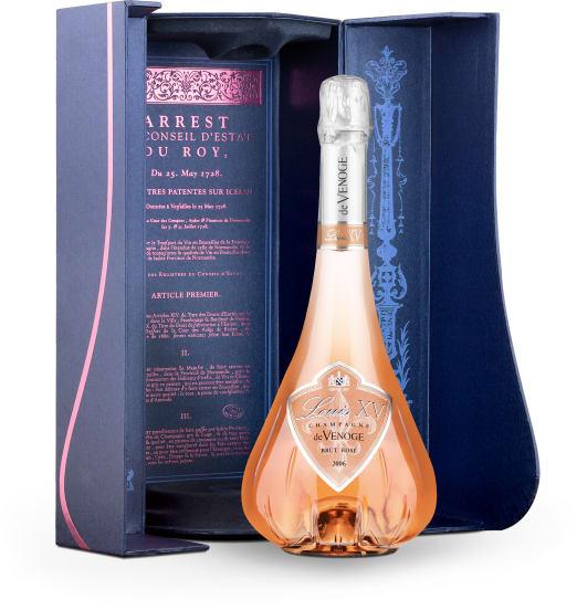'Louis XV' Brut Rosé Vintage 2006