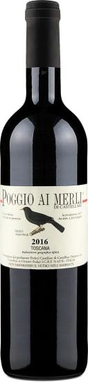 Merlot 'Poggio ai Merli' Toscana 2016