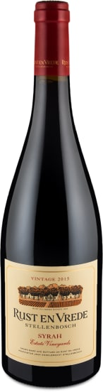 Syrah 'Estate Vineyards' Stellenbosch 2015