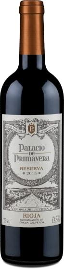 'Palacio de Primavera' Rioja Reserva 2015