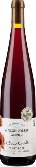 Pinot Noir 'petite naturelle' Elsass 2019 - Bio
