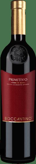 Boccantino Primitivo da uve leggermente appassite Salento 2019