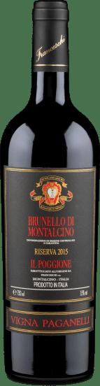 Brunello di Montalcino Riserva Vigna Paganelli 2015