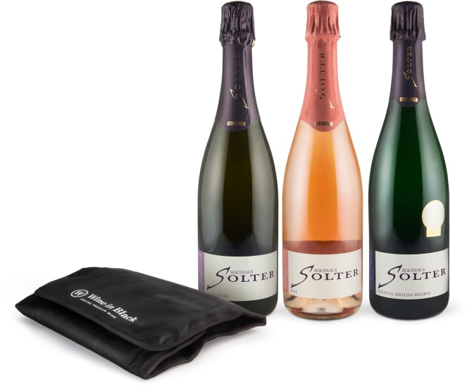 'Best of Premium Sekt-Set' + Gratis Express-Ice-Manschette