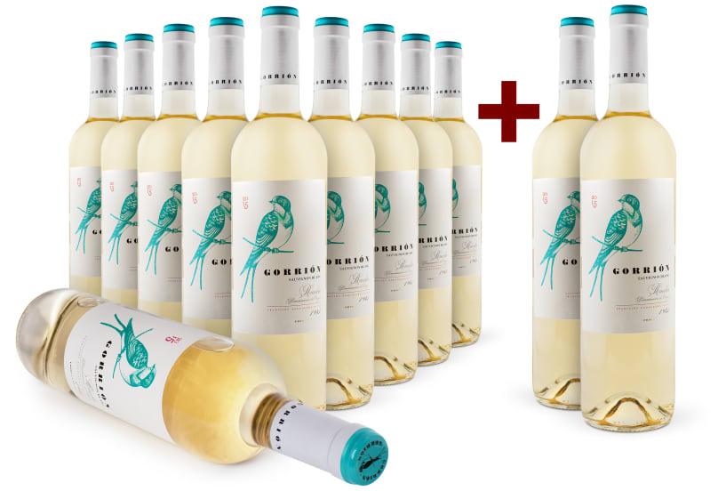 Offre '10+2' Sauvignon Blanc 'Gorrión' Rueda 2015