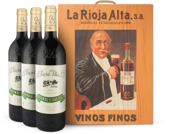 3er-OHK Rioja 'Gran Reserva 904' Cosecha 2005