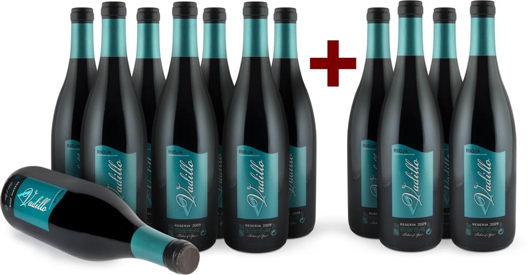Offre '8+4' Vadillo Rioja Reserva 2009
