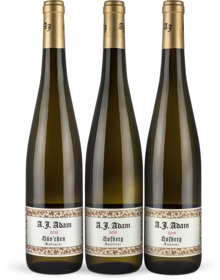Wine in Black 'A.J. Adam 95-Punkte-Riesling-Set'