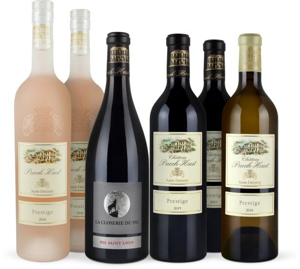 Wine in Black Château Puech-Haut 'Stars of Parker-Set'