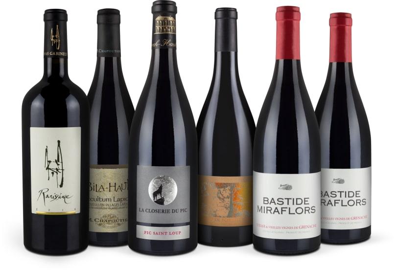 94+ Parker-Punkte 'Languedoc-Roussillon' pakket