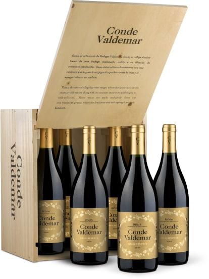 6er-OHK Bodegas Valdemar Rioja Gran Reserva 'Conde Valdemar' 2008