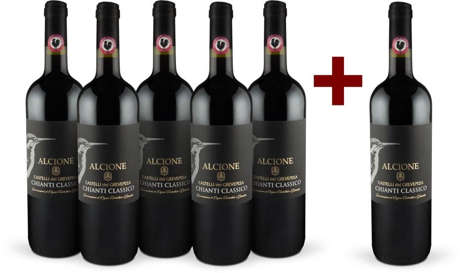 5+1-Set Castelli del Grevepesa Chianti Classico 'Alcione' 2015