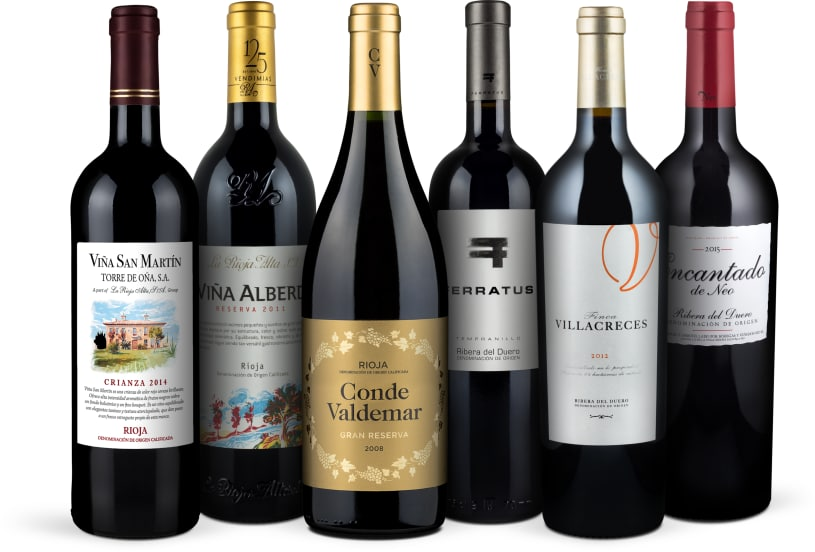Wine in Black 'Rioja versus Ribera-Set'