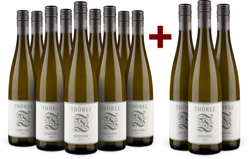 9+3-Set Thörle Riesling trocken 'Fass 9' 2016