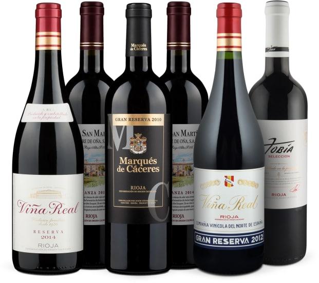 Wine in Black 'Rioja te quiero'-Set