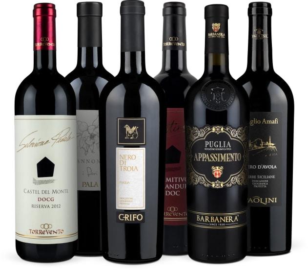Wine in Black Süditalien-Set