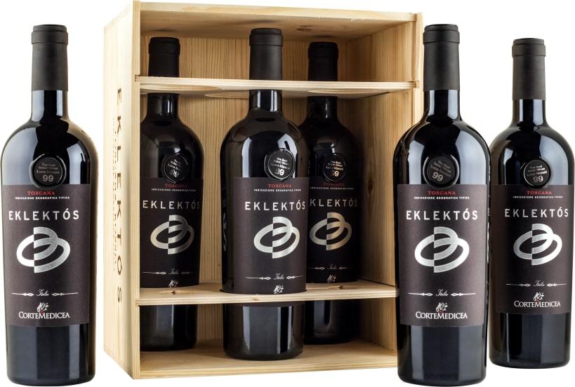 6er-OHK Corte Medicea Cabernet Sauvignon 'Eklektós' Toscana 2015