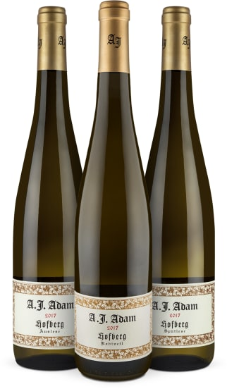 Wine in Black 'A.J. Adam 95-96-98-Punkte-Riesling-Set'