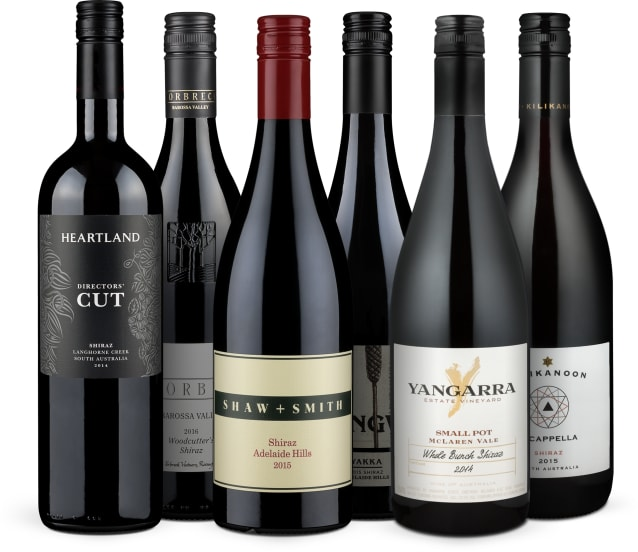 Wine in Black 'Australian Super-Shiraz' pakket