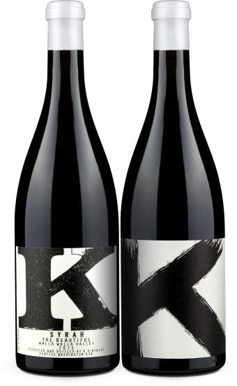 K Vintners Syrah Duo 'The Hidden' & 'The Beautiful' 2015