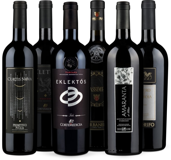 Wine in Black-Set 'Luca Maroni's Favorites'