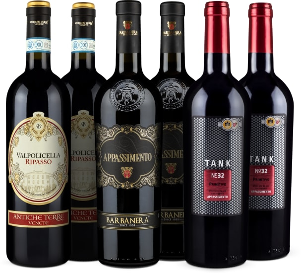Wine in Black 'Appassimento'-Set