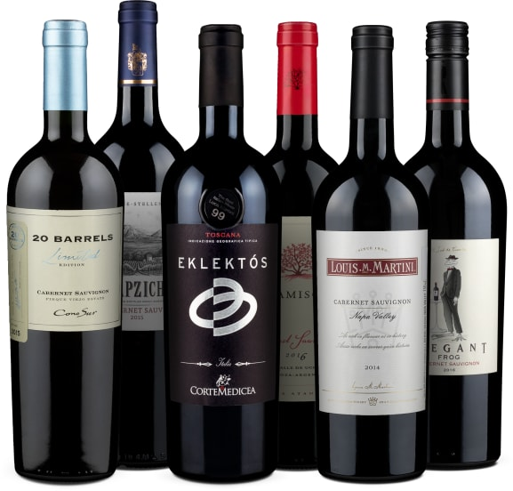 Wine in Black 'Classic Cabernet Sauvignon'-Set