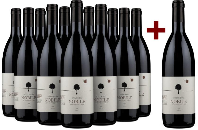 11+1-Set Salcheto Vino Nobile di Montepulciano 2015